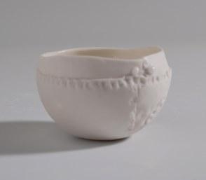 Valerie Ceulemans, bol rond blanc